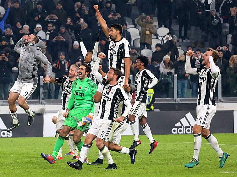 Jubel in Turin